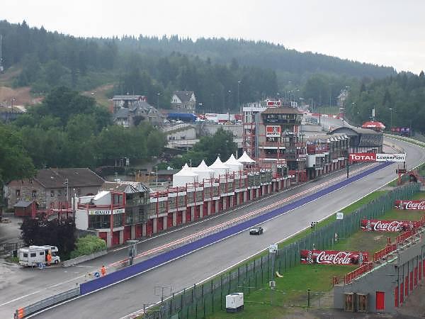 Formel 1 Spa Francorchamps Belgien Eventtentseu